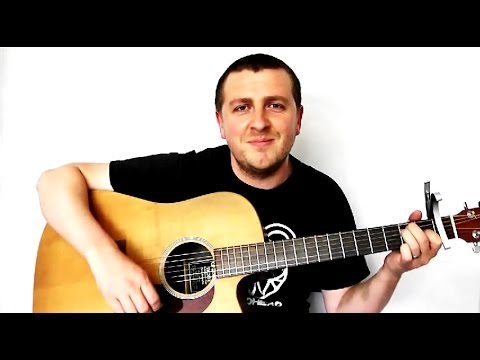 How To Play Budapest on Guitar - Guitar Lesson - George Ezra - Drue ...