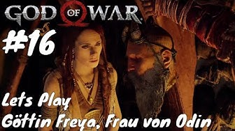 Göttin Freya Frau von Odin / Lets Play God of War 4 #16 Gameplay (PS4) (Deutsch / German)