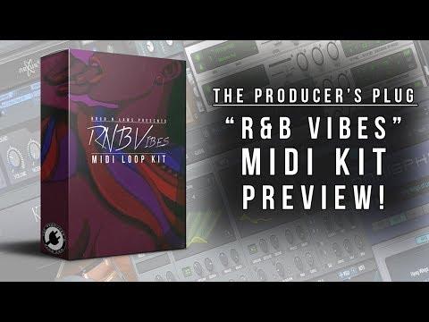 FREE DOWNLOAD | RnB Vibes MIDI Kit - The Producer's Plug
