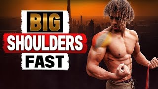Grow Big Shoulders With This Bodyweight Workout - Hits All 3 Heads