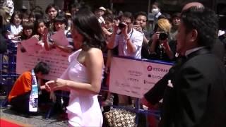 第9回沖縄国際映画祭レッドカーペット 川村ゆきえ 川村ゆきえ 動画 23