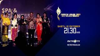 Metro TV - Tourism Awards 2019 Spa and Wellness Indonesia - Upload By Soegiharto Santoso APTIKNAS