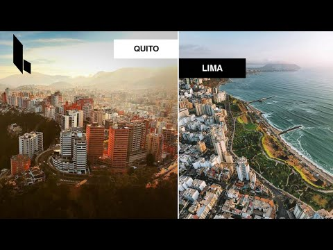 Quito Moderno 🇪🇨 VS Lima Moderna 🇵🇪   2020 4K