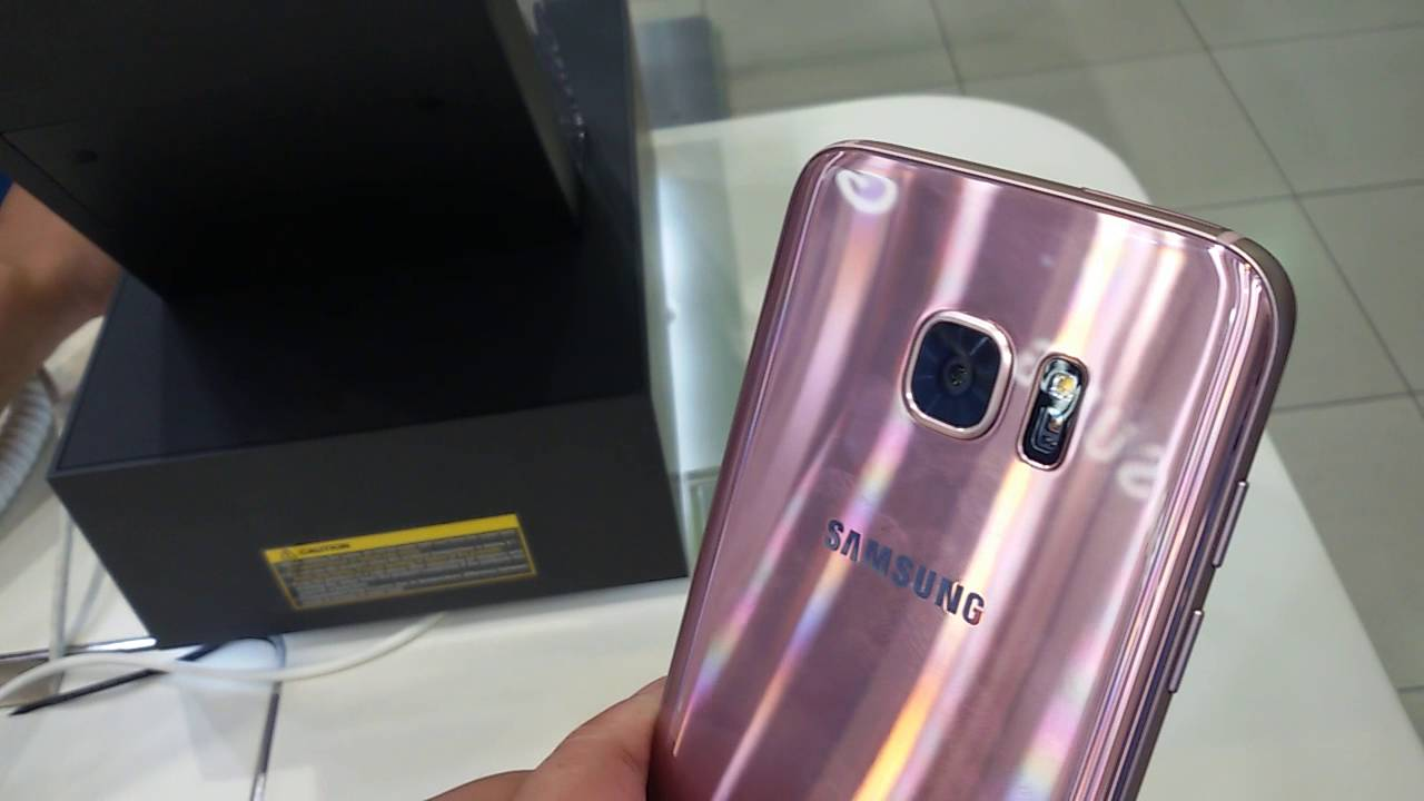 samsung s7 warna pink gold limited edition youtube