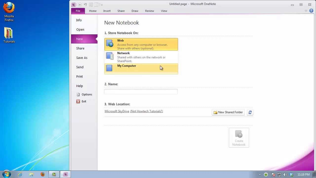 How to Create a Calendar in OneNote - YouTube