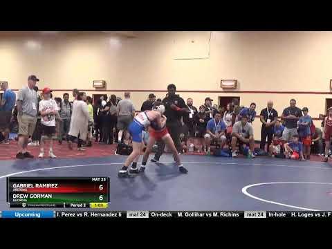 14U 83 Gabriel Ramirez Arizona Vs Drew Gorman Georgia