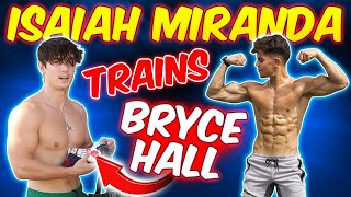 "ISAIAH MIRANDA & BRYCE HALL ""TRAIN BACK"" 