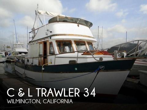 [UNAVAILABLE] Used 1977 C & L Trawler 34 in Wilmington, California