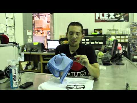 How To: Clean Eyeglasses and Sunglasses - Chemical Guys Streak Free Window Clean - RAY-BAN