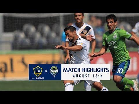 HIGHLIGHTS: Seattle Sounders FC vs. LA Galaxy | August 18. 2018