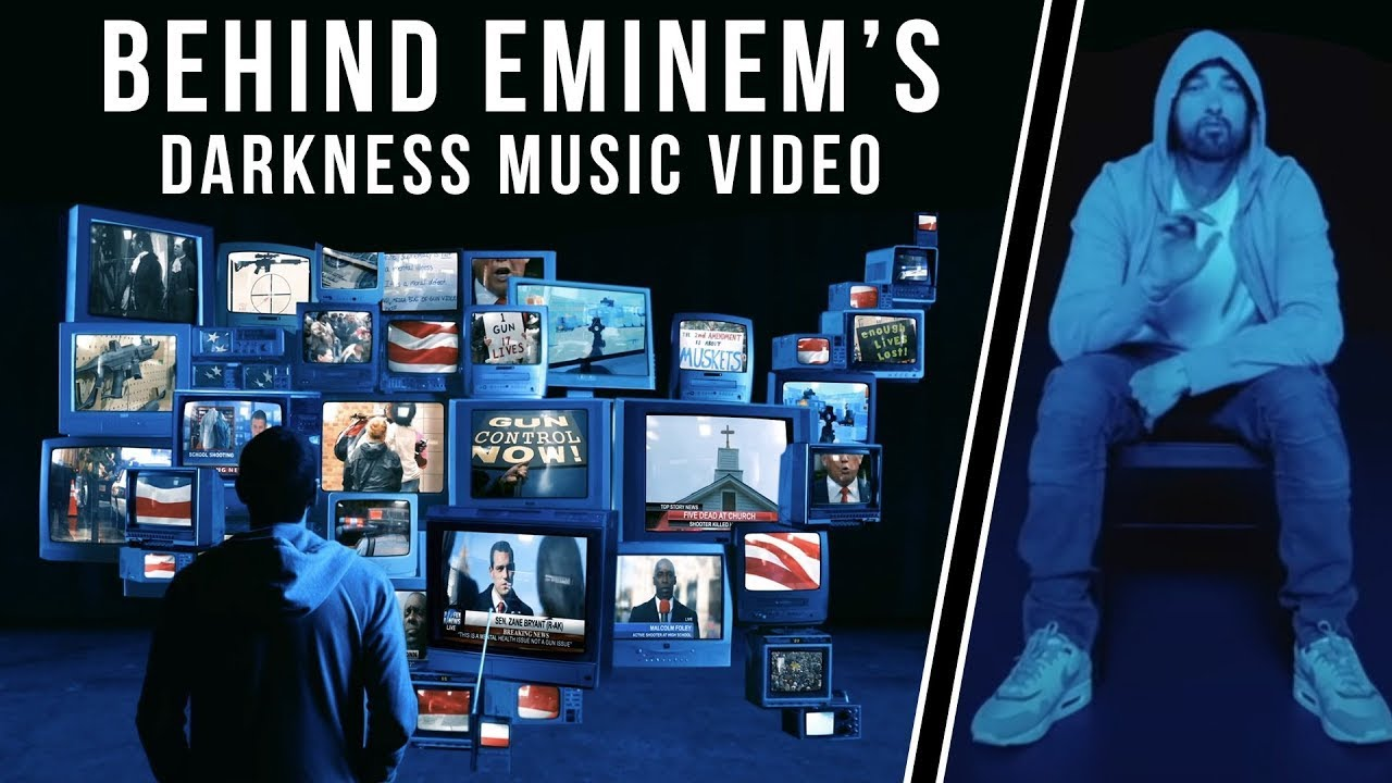 The challenge of reenacting the Las Vegas Shooting for Eminem's Music Video