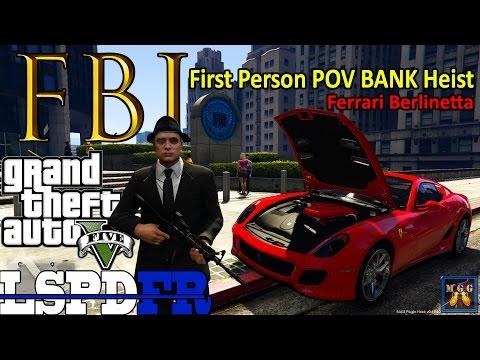 First Person POV FBI Patrol in a Ferrari Berlinetta GTA 5 LSPDFR Episode 88
