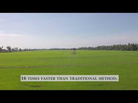 Dronology Malaysia Autonomous Crop Spraying UAV for Agriculture