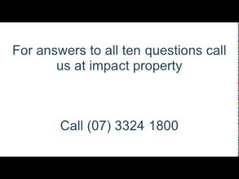 10 Questions To Ask Your Brisbane Property Manager