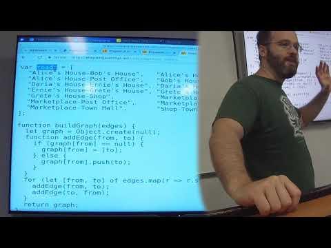 Eloquent Javascript Chapter 7 - Project : A Robot