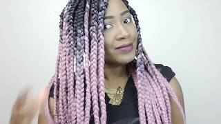 HOW TO BOX BRAIDS  || FIRST TIMER