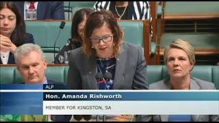 Parliament - 12 February 2018 - Question on South Australian infrastructure