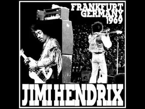 Jimi Hendrix ‎– Burning At Frankfurt [Bootleg]