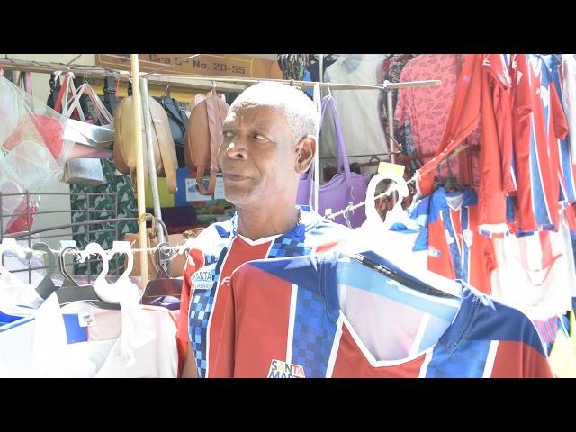 Harry Mosquera, vendedor, dice que el Unión vence por tres goles al Orsomarso