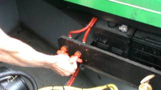 Starting a Narrowboat Engine