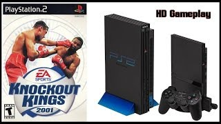 Knockout Kings 2001 (PS2)(2001) Intro + Gameplay (HD)