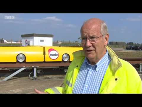 BBC TV report on Mole Solutions freight pipeline system