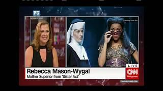 Rebecca Mason-Wygal - CNN Manila - Sister Act