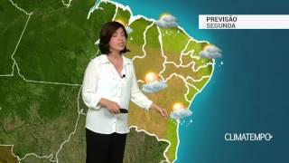 Previsão Nordeste – Pode chover forte no litoral