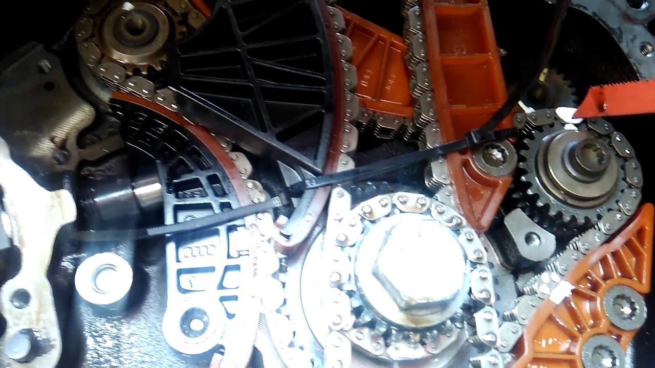Como Sincronisar Cadena De Tiempo Seat Leon Tsi 1 8 Turbo