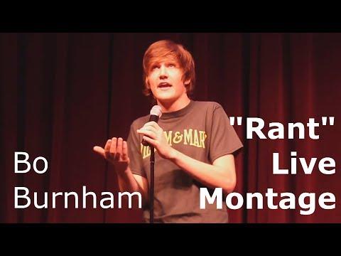 "Bo Burnham ""Rant"" Live Montage"