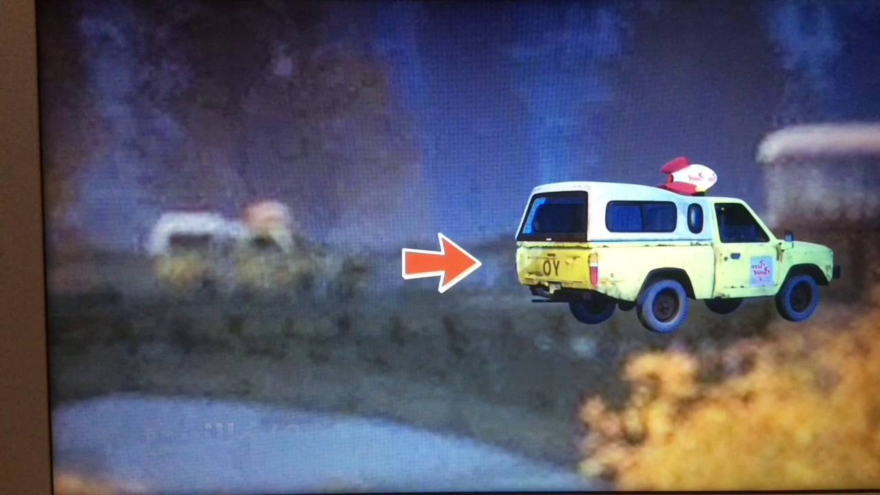 Pizza Planet Truck In Pixar Movies 1995 2015