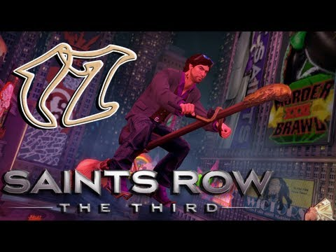 Let's Play Saints Row The Third [HD] Part 17: Protection Service |