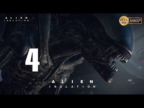 Alien Isolation Parte 4 Gameplay Español Walkthrough Capitulo 4 Robots Asesinos (PC XboxOne PS4)