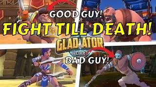 Gladiator Heroes - TURN-BASED STRATEGY GAME FIRST IMPRESSIONS