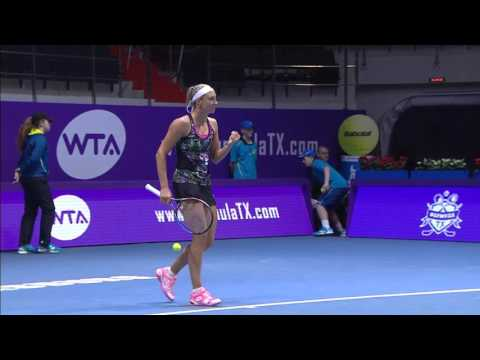 2016 St. Petersburg Ladies Trophy First Round | Yanina Wickmayer vs Jelena Ostapenko | Highlights