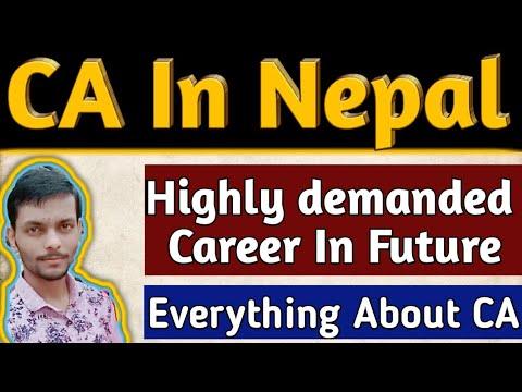 CA in nepal  (in nepali)