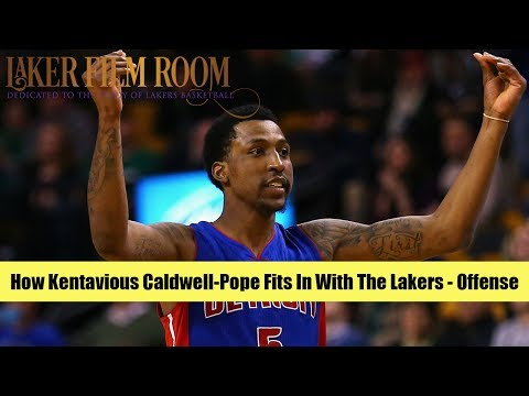 How Kentavious Caldwell-Pope Fits In w/the Lakers, Pt. 1 - Offense