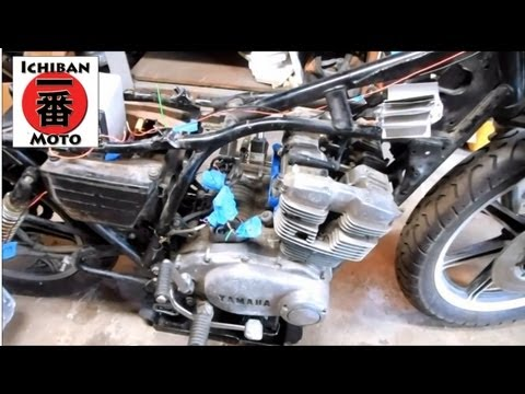 ichiban cafe racer part 13 how to install custom wiring harness rh youtube com  how to make a custom motorcycle wiring harness