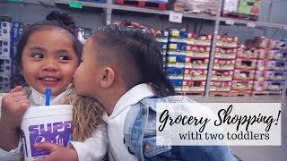 GROCERY SHOPPING WITH TODDLERS⎮HAUS OF SHERRY