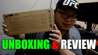 Unboxing and short review of a $43 keyboard | Vpro V500S