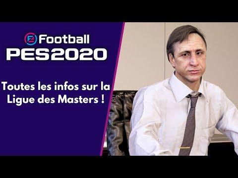PES 2020 : Toutes les infos sur la Ligue des Masters remasterisée !