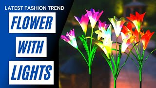 Giant Flower Lights | Beautiful lights and Flower Decorate your Home.