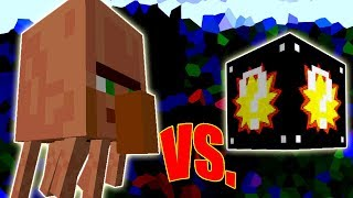 SUPER VILLAGER VS. SUPER LUCKY BLOCK (MINECRAFT LUCKY BLOCK CHALLENGE)