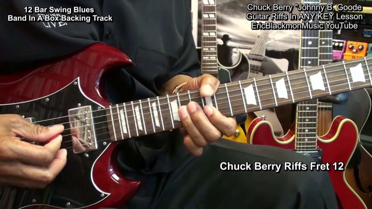 how to play chuck berry electric guitar riffs in any key funkguitarguru funk youtube. Black Bedroom Furniture Sets. Home Design Ideas