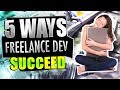 5 Tips to Succeed As Freelance / Remote Developer | #CodingPhase