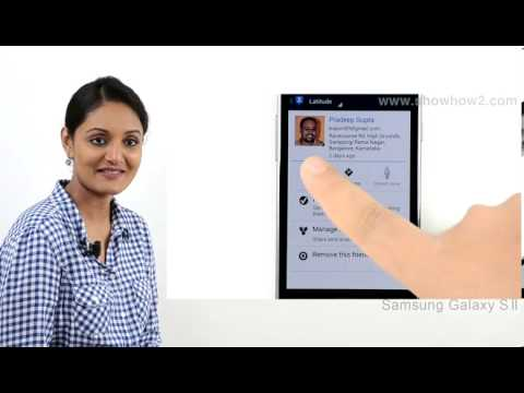 Samsung Galaxy S3 - Invite Friends To Latitude - Preview from YouTube · Duration:  53 seconds
