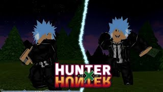 Testing a New Hunter x Hunter Game on Roblox! | HxH Online