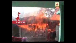 Violence in Basanti centering on TMC inner clash