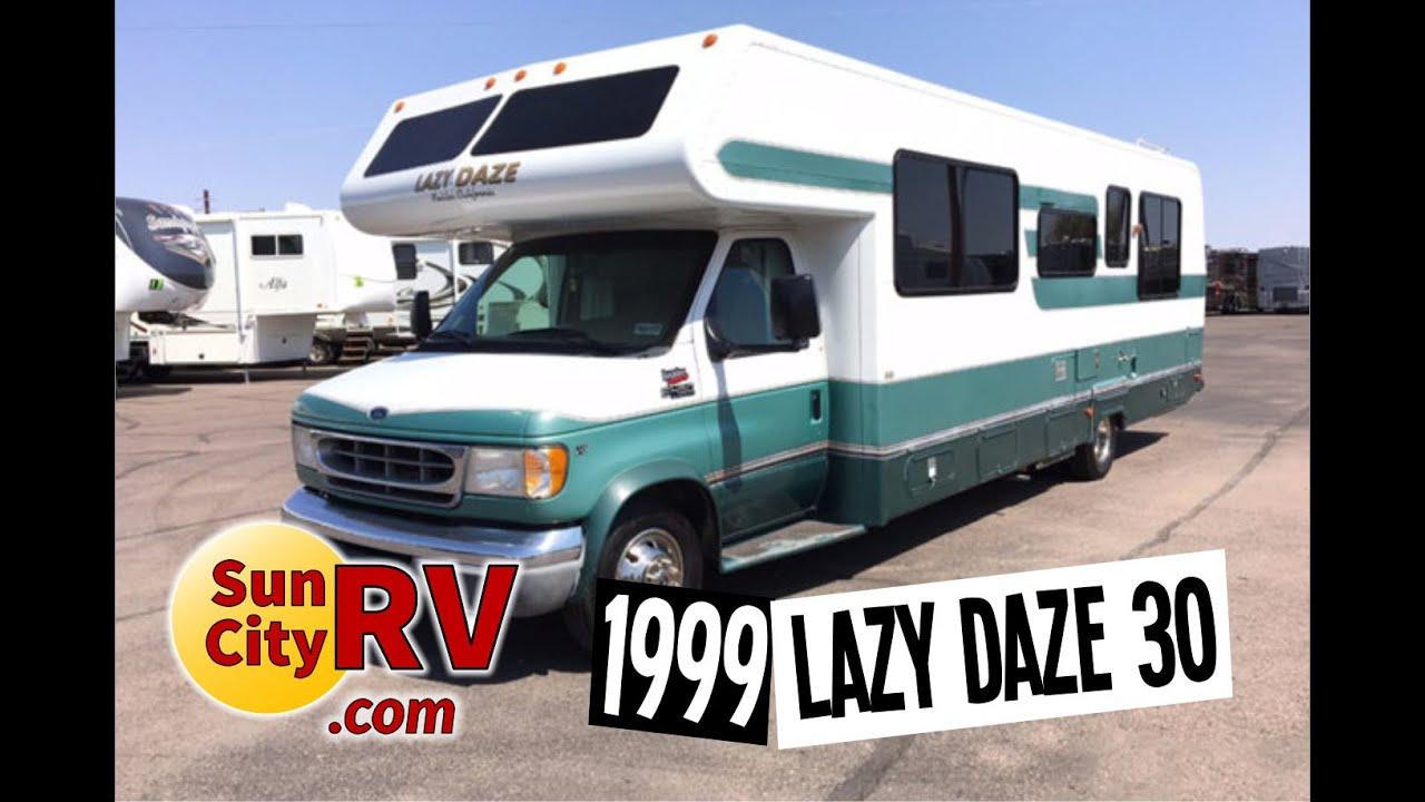 Lazy Daze Rv >> Lazy Daze For Sale Phoenix 30 Island Bed Rv 1999 Sun City Rv