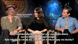 Jake Hamilton: TMI Interview with Lily Collins, Jamie Campbell Bower and Kevin Zegers (TR Altyazılı)